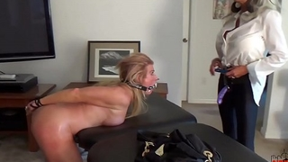 Watch her squirt when I pull my Dildo out be advantageous to her  ASS  Sally D'_angelo Mandy vixen