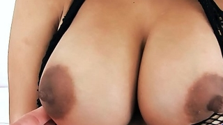 Young Latina Has Big Natural Gut Round Ass and Gaped Pussy