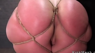 Slave butt stopped and ass fucked