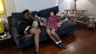 Free Scene! Sign Up missgialove.com Drunk GIrls Tied Up &amp_ Ticked