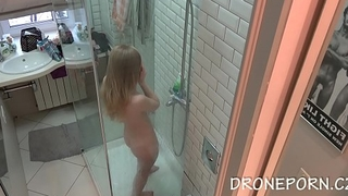 Czech voyeur spy cam from collage