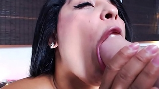 She teases me with her dildo