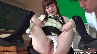 Japanese mother i'_d like to fuck enjoys disappointing pussy toying and fingering