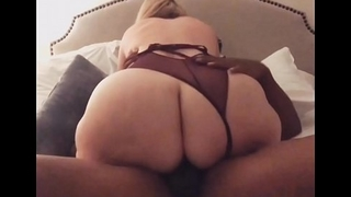 Pawg Big booty loves BBC