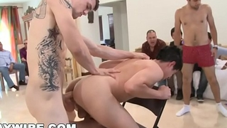 GAYWIRE - This Sausage Party Hastily Gets Out Be beneficial to Hand! Dicks Everywhere.