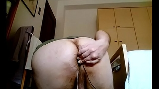 Kocalos - Inserting a sex toy in my ass hole