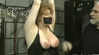 Raw scenes with obedient women enduring extreme bondage sex