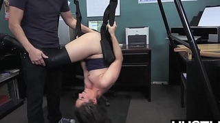 Gay babe Ziggy Star ass fucked roughly at audition