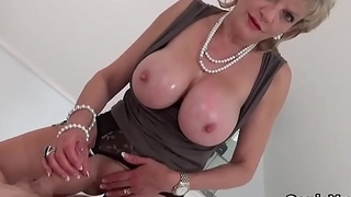 Adulterous british grown up lady sonia pops out her huge titties