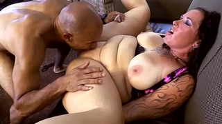 Tattooed HOTWIFE Gangbang