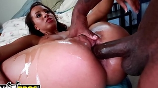 BANGBROS - Brown Bunnies Episode With Teanna Trump Riding Rico Pronounced Like A Pro