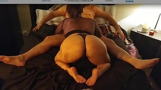 Latina Maid Cock Sucking, Pussy Licking &amp_ Big Plunder Bouncing Best Time Life