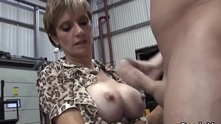 Unfaithful english milf lady sonia showcases her huge balloons