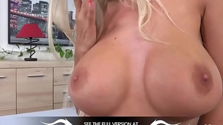 Wetandpuffy - Busty blonde fills her pussy and ass relative to toys